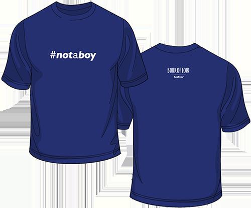 Notaboy-tee